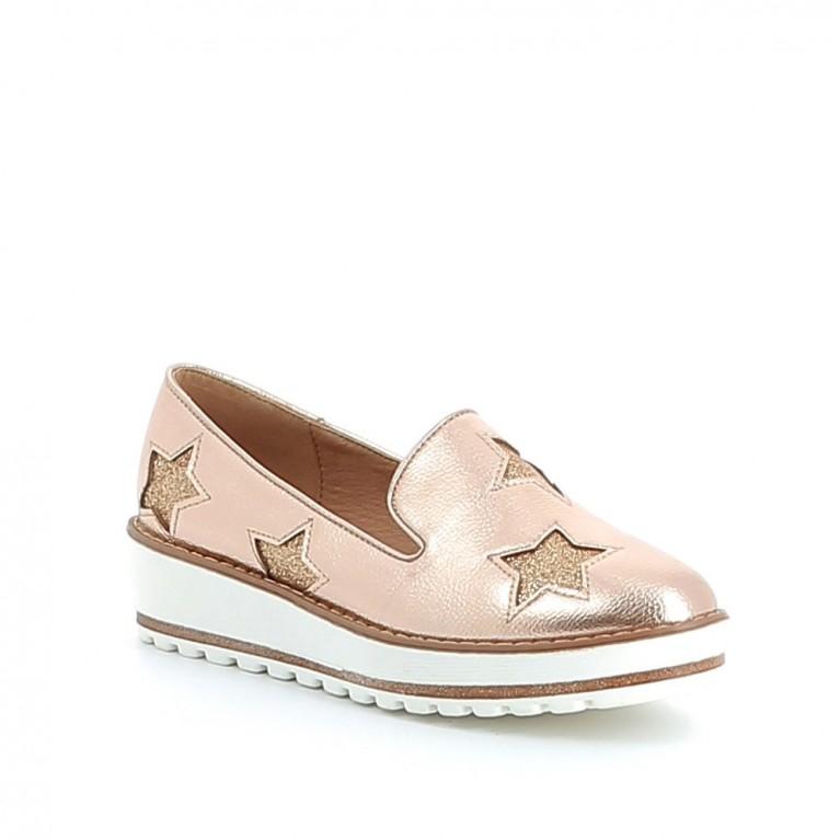 Slippers à étoiles pailletées