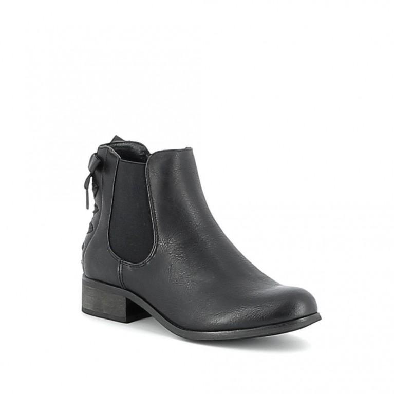 Chelsea boots à ruban