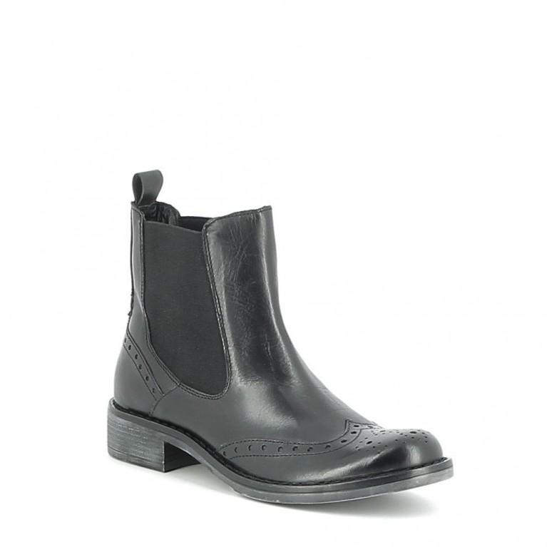 Chelsea boots en cuir