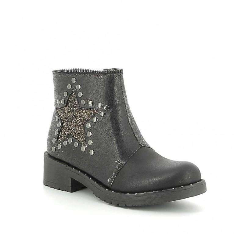 Low-boots à étoile pailletée