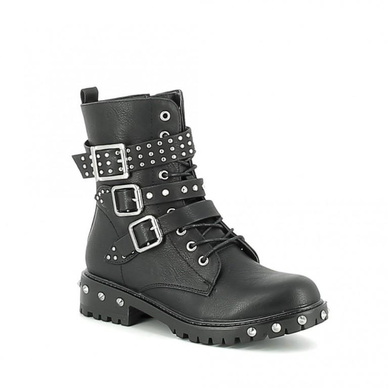 Boots cloutées de style rangers